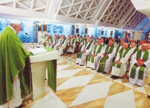 art 1 papa santa marta
